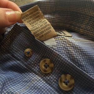Duluth Trading Co Shirts - Duluth blue plaid short sleeve outdoor shirt 2XLT